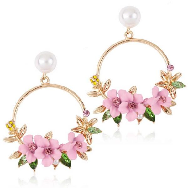 Elegant Flower Earring