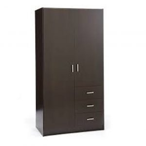2 Door 3 Drawers Wardrobe