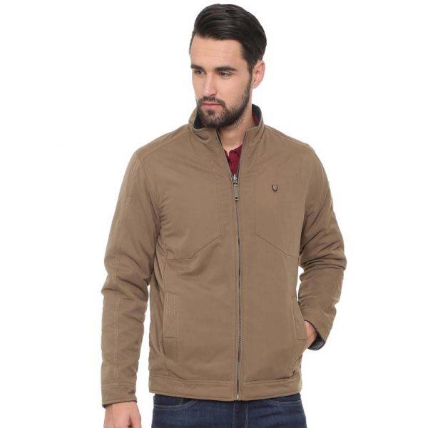 Allen Solly Brown Reversible Jacket