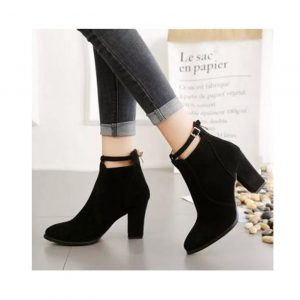 Casual Soft All Match Tidal High Heels Boots