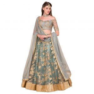 Embroided Lehenga Set