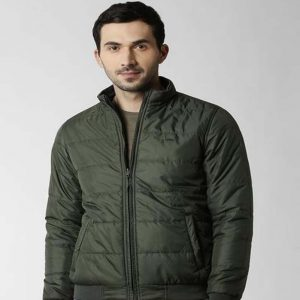 Peter England Green Reversible Jacket