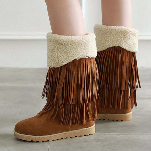Winter Thermal Mid Calf Boots