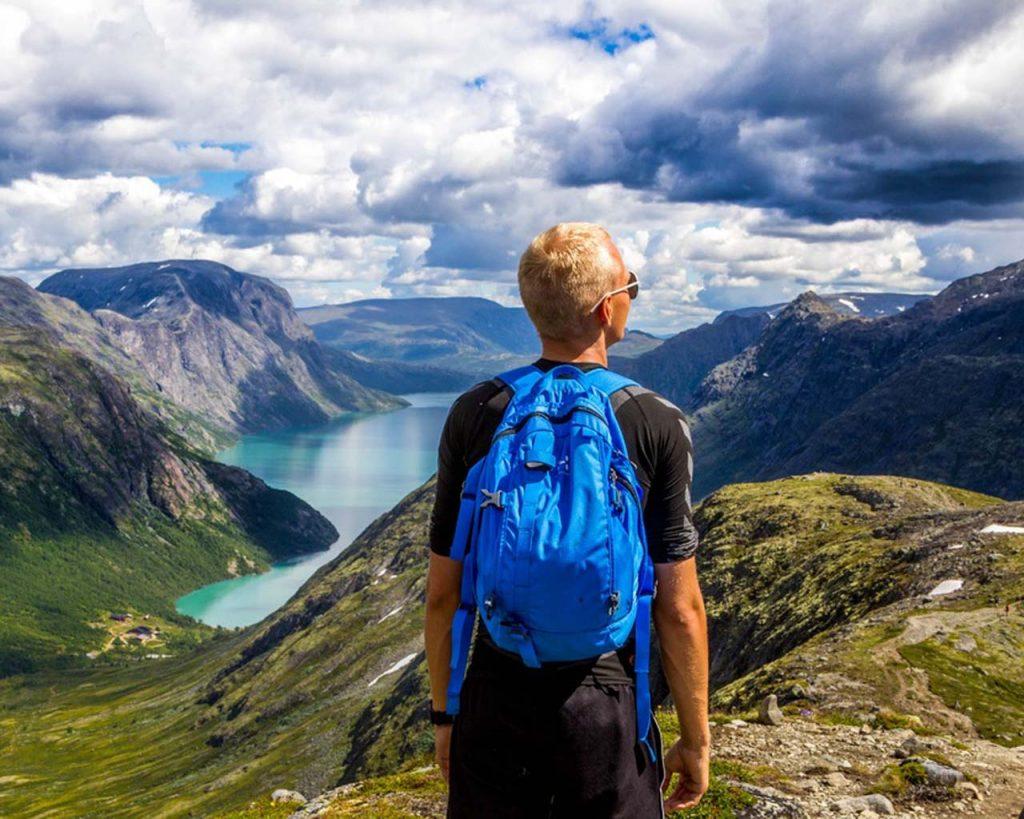 Hiking lowers stress levels.