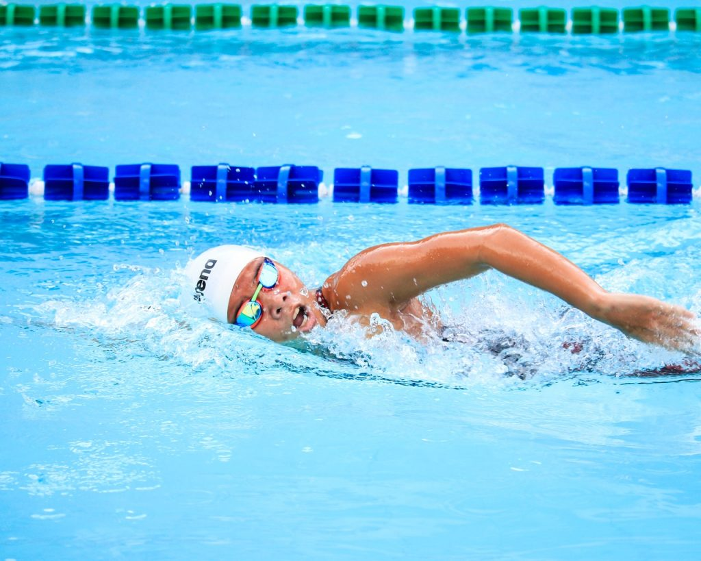 Swimming creates a social outlet for people with Autism.
