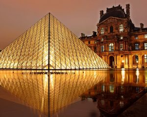 The Louvre is the most visited attraction in Europe.